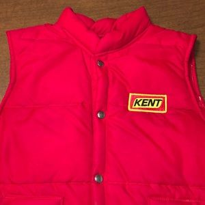 SWINGSTER Kent Feeds VTG Quilted Puffer Vest M